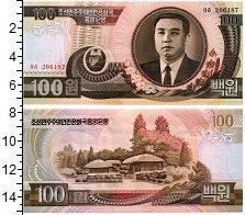 Изображение Банкноты Северная Корея 100 вон 1992  UNC