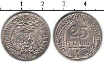 Изображение Монеты Европа Германия 25 пфеннигов 1911 Медно-никель XF