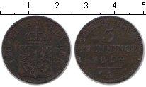 Изображение Монеты Германия Пруссия 3 пфеннига 1859 Медь XF