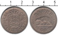 Изображение Монеты Дания Гренландия 25 эре 1926 Медно-никель XF