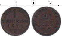 Изображение Монеты Германия Пруссия 1 пфенниг 1871 Медь XF