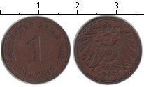 Изображение Монеты Европа Германия 1 пфенниг 1893 Медь XF