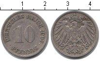 Изображение Монеты Европа Германия 10 пфеннигов 1907 Медно-никель XF