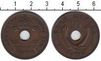 Изображение Монеты Восточная Африка 10 центов 1950 Медь XF