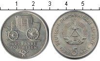 Изображение Монеты ГДР 5 марок 1990 Медно-никель XF