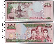 Изображение Банкноты Северная Америка Доминиканская республика 200 песо 2013  UNC