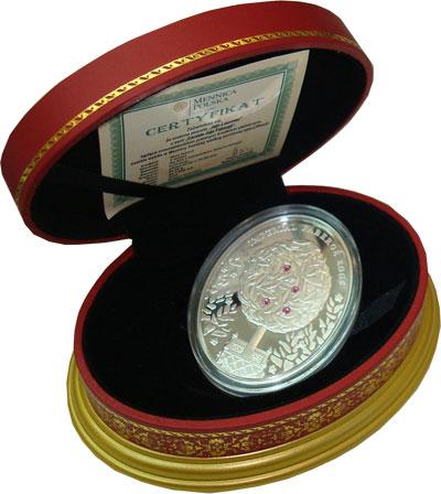 Изображение Подарочные монеты Новая Зеландия Ниуэ Яйцо Фаберже 2012 Серебро Proof