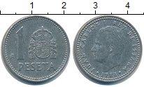 Изображение Дешевые монеты Европа Испания 1 песета 1986