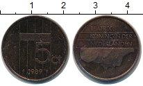 Изображение Дешевые монеты Нидерланды 5 центов 1989