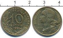 Изображение Дешевые монеты Франция 10 сантим 1998