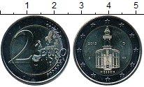 Изображение Мелочь Европа Германия 2 евро 2015 Биметалл UNC