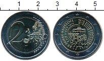 Изображение Мелочь Германия 2 евро 2015 Биметалл UNC D. 25 лет объединени