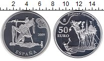 Изображение Монеты Испания 50 евро 2009 Серебро Proof