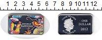 Изображение Монеты Острова Кука 1 доллар 2012 Серебро Proof Двойное счастье