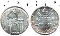 Изображение Монеты Ватикан 1000 лир 1988 Серебро UNC-
