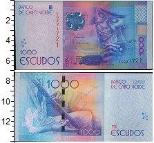 Изображение Банкноты Африка Кабо-Верде 1000  эскудо 0  UNC-