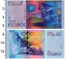 Изображение Банкноты Кабо-Верде 1000  эскудо 2014  UNC