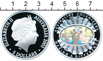 Изображение Монеты Австралия 5 долларов 2003 Серебро Proof-