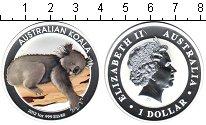 Изображение Монеты Австралия 1 доллар 2012 Серебро Proof-