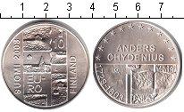 Изображение Монеты Европа Финляндия 10 евро 2003 Серебро UNC