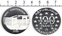 Изображение Монеты Европа Франция 100 франков 1996 Серебро