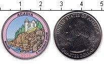 Изображение Цветные монеты США 1/4 доллара 2012 Медно-никель UNC-
