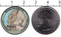 Изображение Цветные монеты США 1/4 доллара 2013 Медно-никель UNC- Национальный мемориа