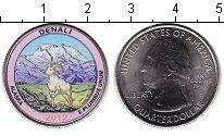 Изображение Цветные монеты США 1/4 доллара 2012 Медно-никель UNC- Национальный парк Де