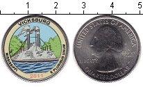 Изображение Цветные монеты США 1/4 доллара 2011 Медно-никель UNC-
