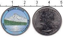 Изображение Цветные монеты США 1/4 доллара 2010 Медно-никель UNC- Национальный лес Мау