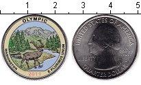 Изображение Цветные монеты США 1/4 доллара 2011 Медно-никель UNC Национальный парк Ол