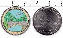Изображение Цветные монеты США 1/4 доллара 2011 Медно-никель UNC Рекреационная зона Ч