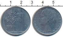Изображение Дешевые монеты Италия 100 лир 1963 Железо XF