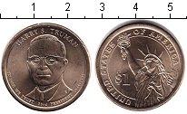 Изображение Мелочь США 1 доллар 0 Медно-никель UNC- 33-й президент. Гарр