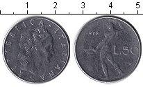 Изображение Дешевые монеты Не определено 50 лир 1978