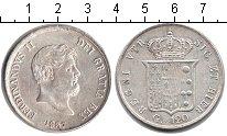Изображение Монеты Италия 120 гран 1857 Серебро XF