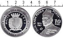 Изображение Монеты Европа Мальта 10 евро 2013 Серебро Proof-