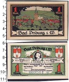Изображение Банкноты Германия : Нотгельды 1 марка 1921  XF