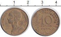 Изображение Дешевые монеты Не определено 10 сантим 1967