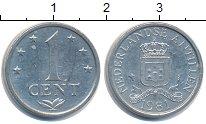 Изображение Дешевые монеты Антильские острова 1 цент 1981