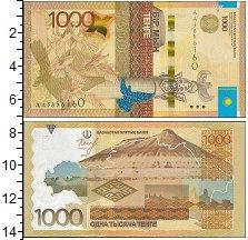 Изображение Банкноты СНГ Казахстан 1000 тенге 2014  UNC