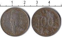 Изображение Дешевые монеты Южная Корея 100 вон 1996