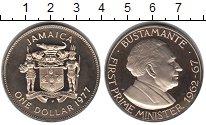 Изображение Монеты Северная Америка Ямайка 1 доллар 1974 Медно-никель Proof-