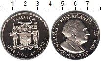 Изображение Монеты Северная Америка Ямайка 1 доллар 1975 Медно-никель Proof-