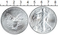 Изображение Мелочь Северная Америка США 1 доллар 2016 Серебро UNC