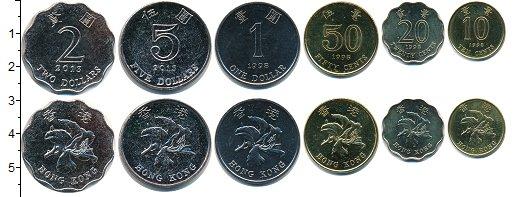 Изображение Наборы монет Китай Гонконг Гонконг 1998-2013 0  UNC-