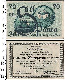 Изображение Банкноты Германия : Нотгельды 70 геллеров 1920  XF
