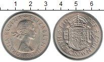 Изображение Монеты Европа Великобритания 1/2 кроны 1967 Медно-никель UNC-