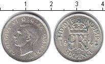 Изображение Монеты Великобритания 6 пенсов 1942 Серебро XF