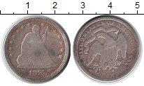 Изображение Монеты США 1/4 доллара 1876 Серебро